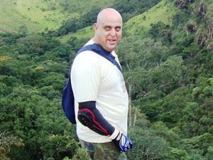 Policial militar Alaor Branco Júnior morto em Aguaí (Foto: Reprodução/Facebook)