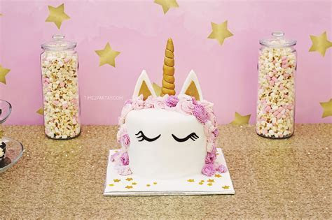 A Unicorn Themed Birthday Party   Time2Partay.com