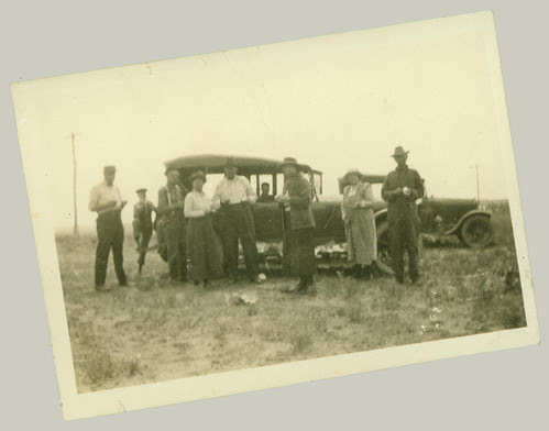 Group and cars