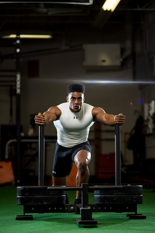 Fitness photoshoot with FitLife Athletics at Afterburn Fitness in Toronto.