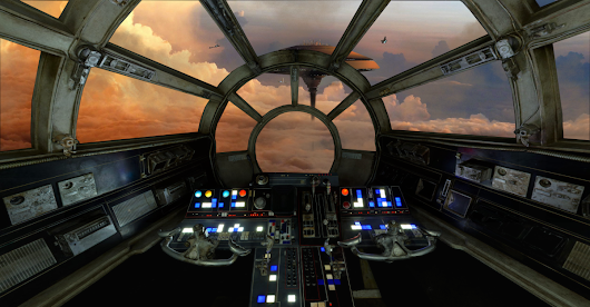 Star Wars cockpits for your digital tabletop game
