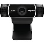 Logitech C922 1920 x 1080pixels USB Black webcam - 960-001087