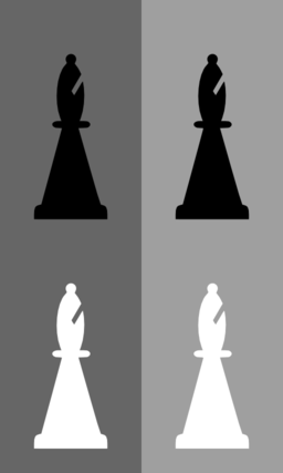 Download Color Wheel of 2d Chess Set Bishop clipart