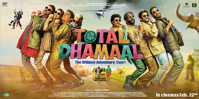 Total Dhamaal Full Movie Download In Hindi For 480p, 720p Quality- Filmywap