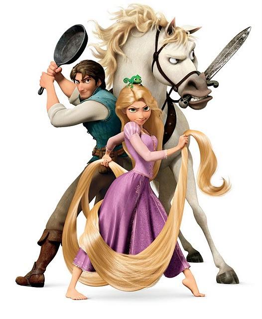 塔の上のラプンツェル主要キャラ 2014の干支馬のキャラクター