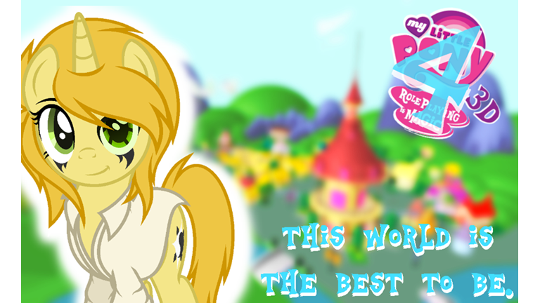 V4 Update My Little Pony 3d Roleplay Is Magic Roblox Go - my little pony eg roblox