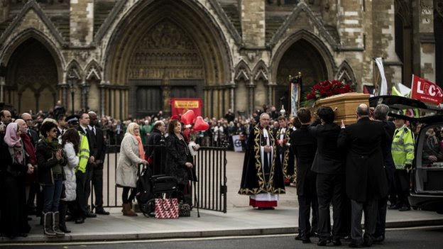 Tony Benn's funeral