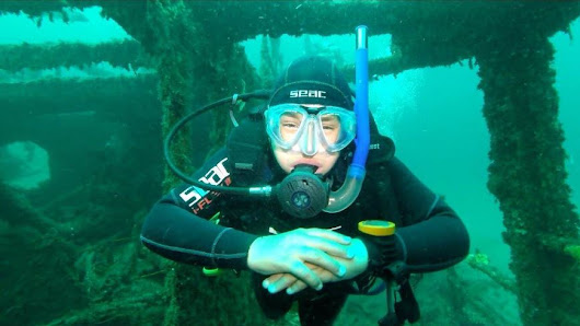 13 Year Old Master Scuba Diver Lives Life With a Purpose