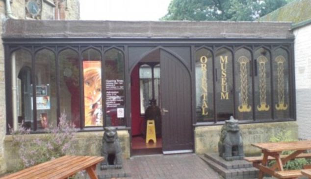 Target: Durham University's Oriental Museum was one of the institutions affected in last year's spate of robberies