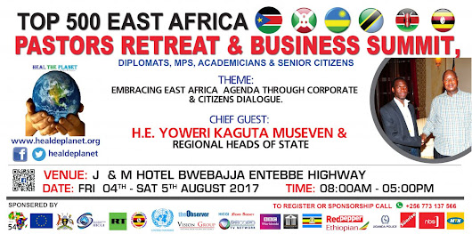 2 Days left for HTP E.Africa Business Summit & Pastors Retreat-Fri 4-5 Aug 17-Register now with U$40 NOT U$50