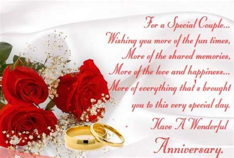 Have A Wonderful Anniversary. Free To a Couple eCards