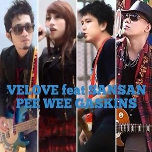 Lirik  Velove feat. Sansan PW Gaskin - Kekuatan Cinta