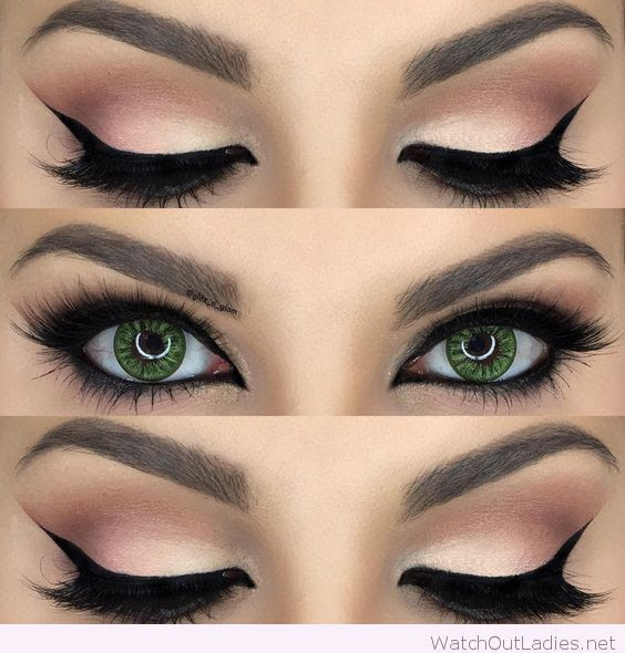 How to Rock Makeup for Green Eyes & Makeup Ideas ...