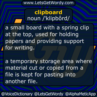 clipboard 06/14/2016 GFX Definition