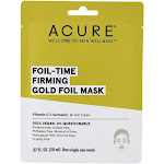 ACURE Foil Time Fortifying Gold Foil Facial Sheet Mask 1 Sheet(s)