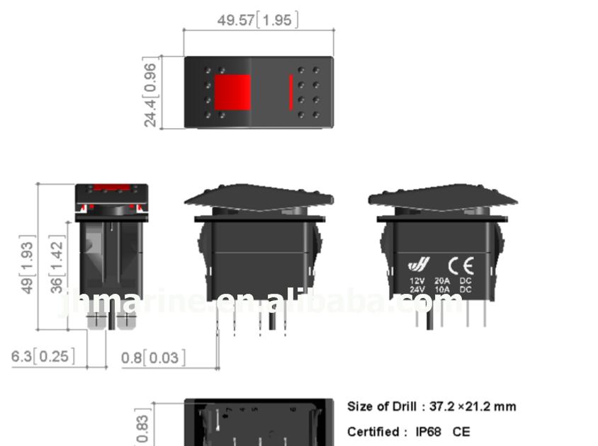 19 Inspirational 12v Illuminated Switch Wiring Diagram