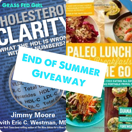 End Of Summer Healthy Heart Paleo Giveaway Cholesterol Clarity And