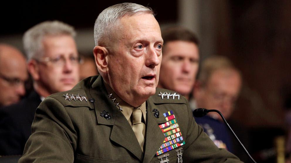 Resultado de imagen de al general Mattis, alias «Perro loco»