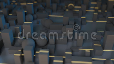 Greeble Light Streaks Stock Video - Video: 63110547