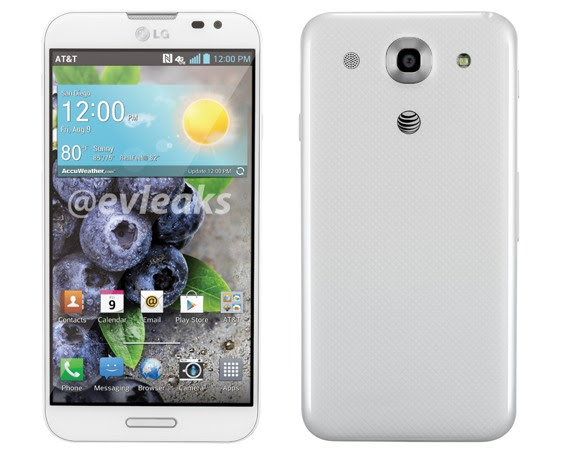 LG Optimus Pro leaks in white for AT&T