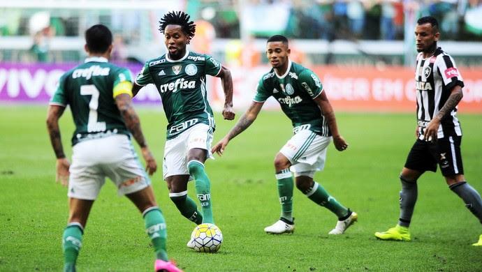 Palmeiras x Botafogo (Foto: Marcos Ribolli)