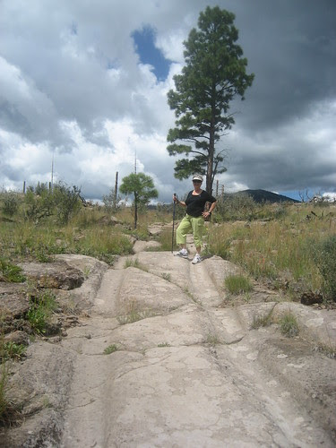 Ma on the quemazon trail