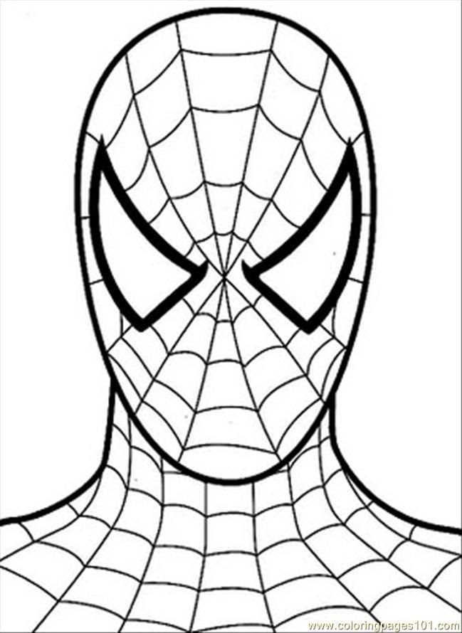 7200 Coloring Pages Spiderman Pdf  Images