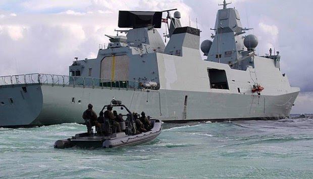 Mengenal Frigate Canggih Kelas Iver Huitfeldt