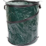 Wakeman 33-Gallon Outdoors Pop Up Camping Garbage Can Trash Bin
