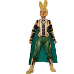 Marvel Loki Costume For Kids - Size Small