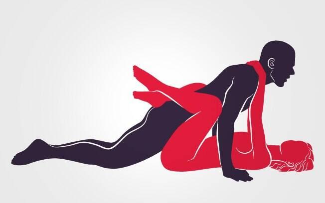 39. POUSO CLÁSSICO: Em posição de flexão de braço, ele penetra a parceira, que se enrosca nele elegantemente . Foto: Renato Munhoz (Arte iG)