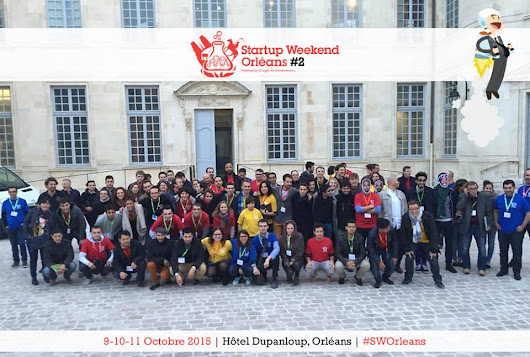 """Roof Minute"" remporte le Startup Weekend Orléans 2015 