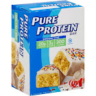 Pure Protein Protein Bar, Birthday Cake - 6 pack, 1.76 oz bars