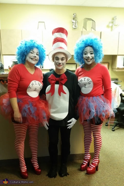 The Cat In The Hat And Thing 1 Thing 2 Costume