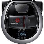 Samsung - POWERbot R7065 Wi-Fi Connected Robot Vacuum - Satin Titanium