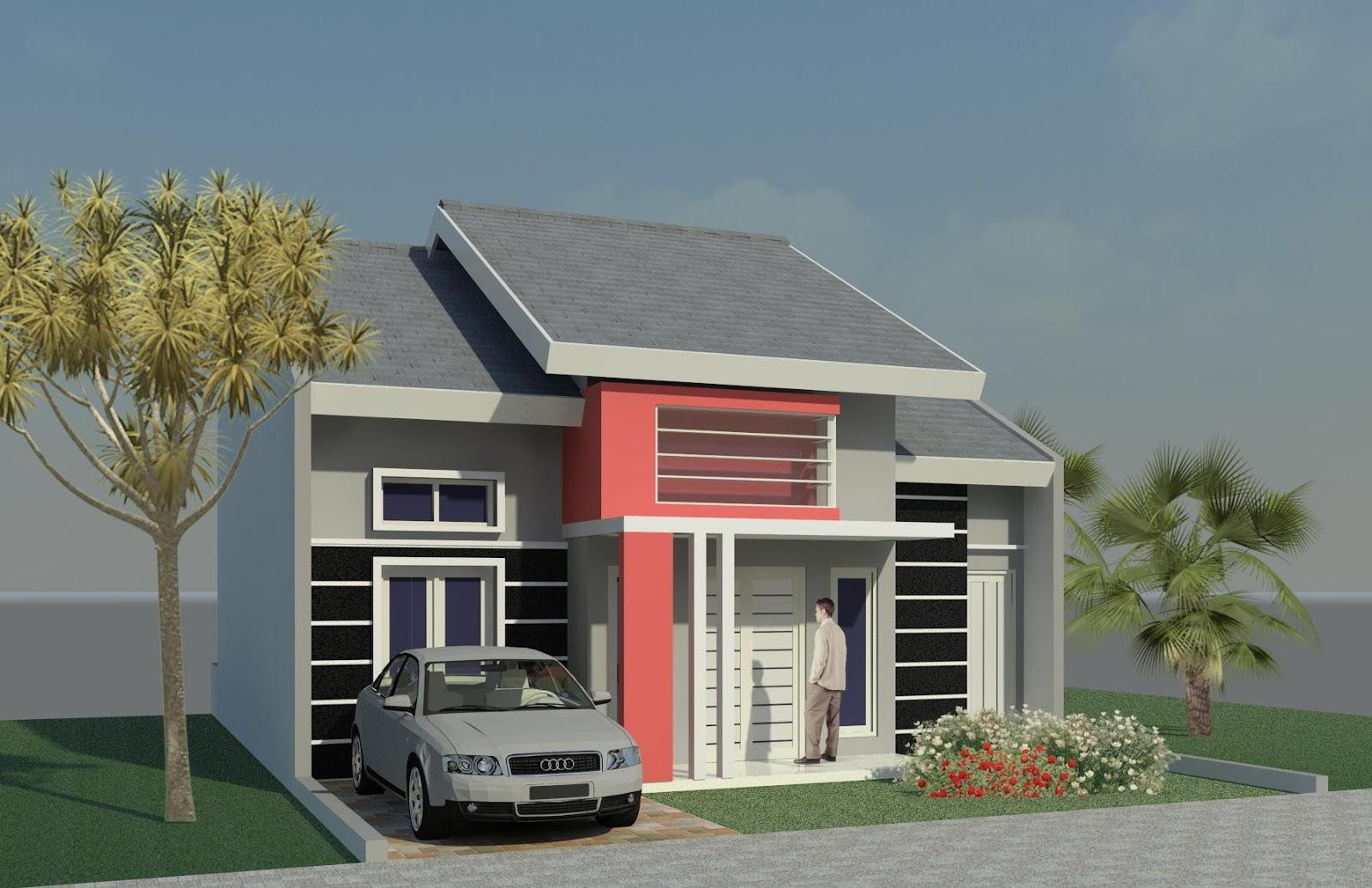 desain rumah minimalis type 21 1 & 2 lantai sederhana