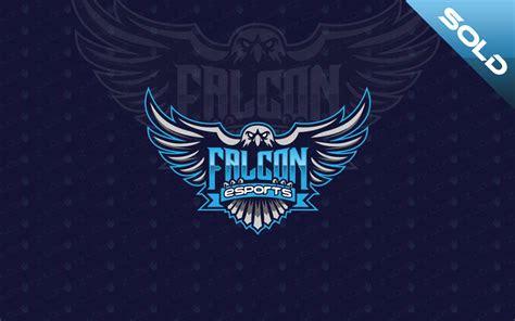 falcon esports custom logo design lobotz