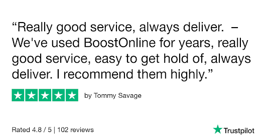 Tommy Savage gave BoostOnline 5 stars. Check out the full review...