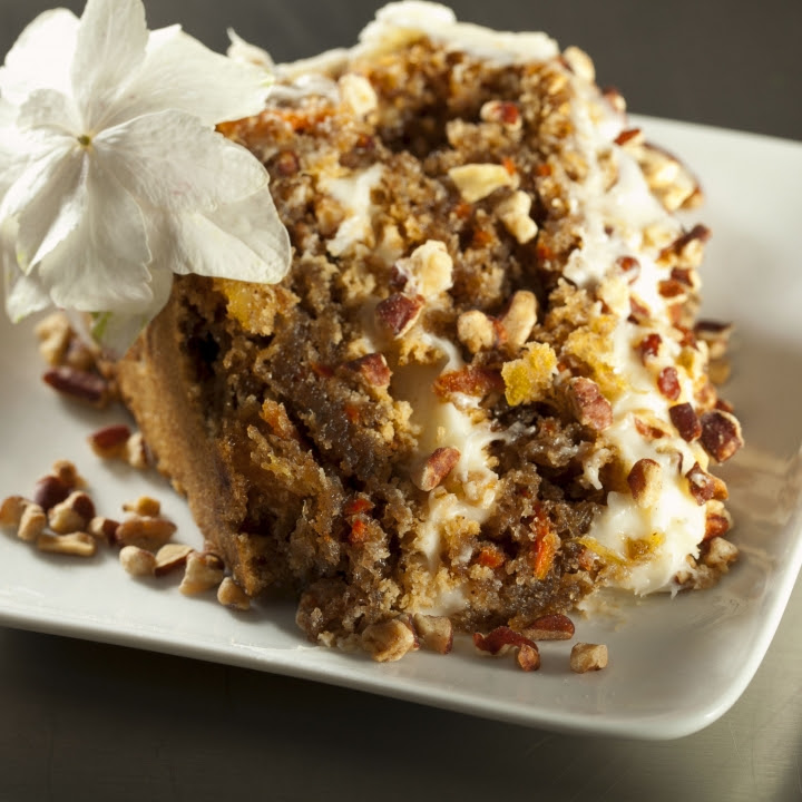 Healthy Carrot Cake With Pineapple