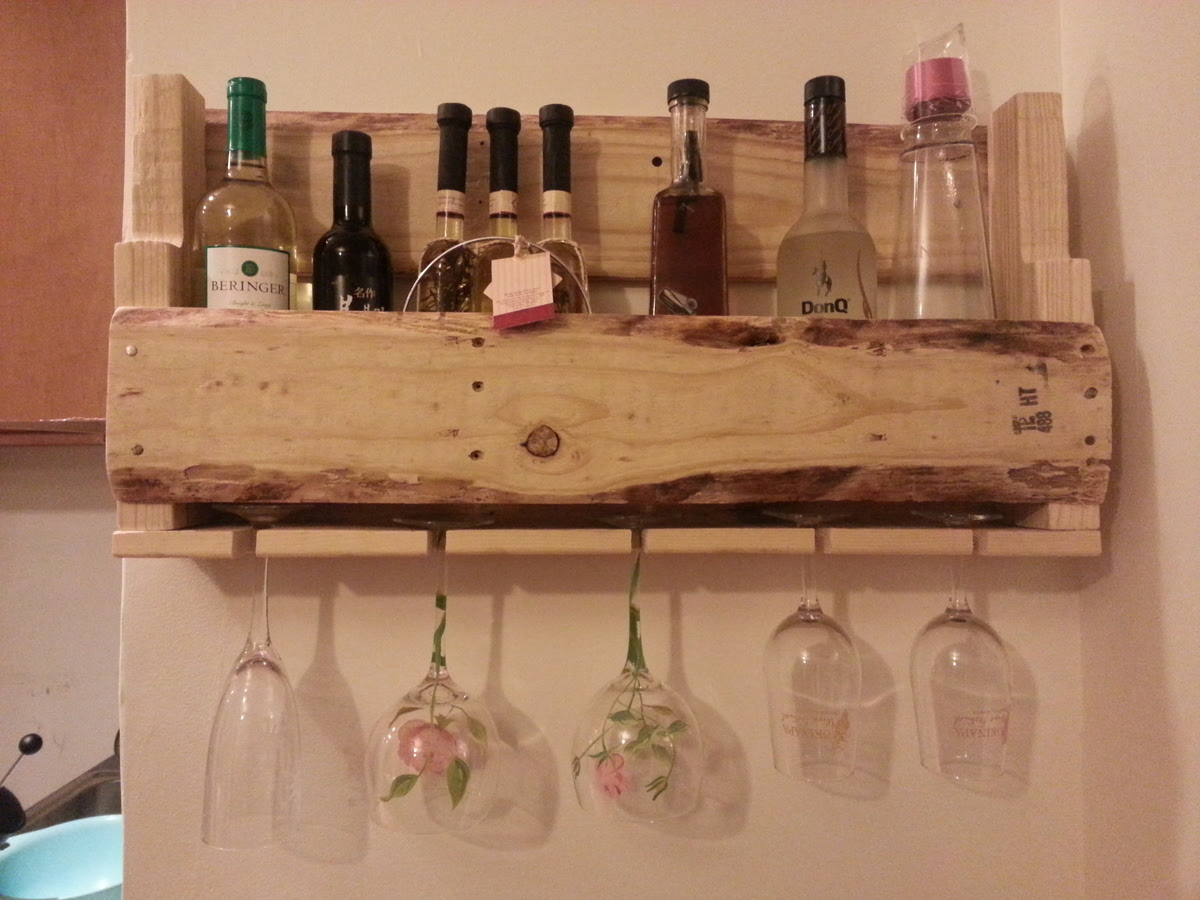 Ana White Wine Rack With Wine Glass Holder Diy Projects