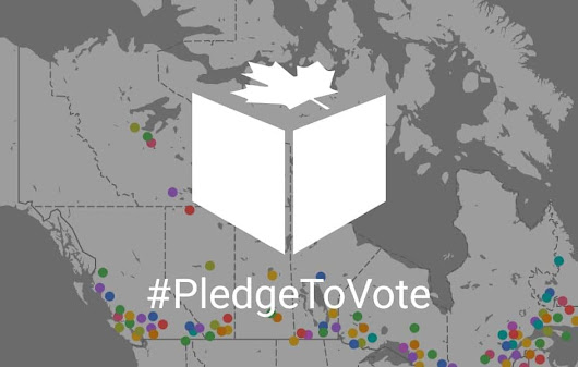 I Pledge To Vote in Canada's federal election. Will you?