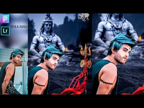 SHIVRATRI - Special Photo Editing, Maha shivratri Manipulation photo editing, shivratri 2019