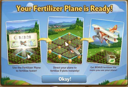Fertilizer Plane - FarmVille 2