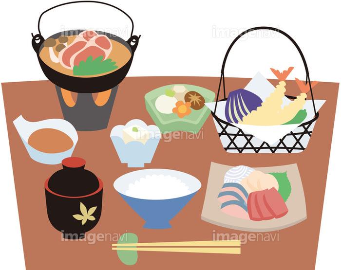 旅館の食事の画像素材14403000 イラスト素材ならイメージナビ