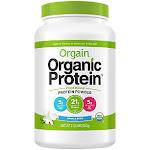 Orgain - Organic Plant-Based Vegan Protein - Vanilla Bean (20 Servings) - Plant Based Blends