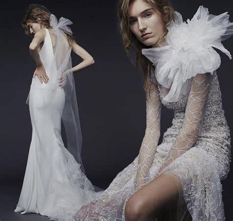 Vera Wang Fall/Winter 2015 2016 Wedding Dress Collection