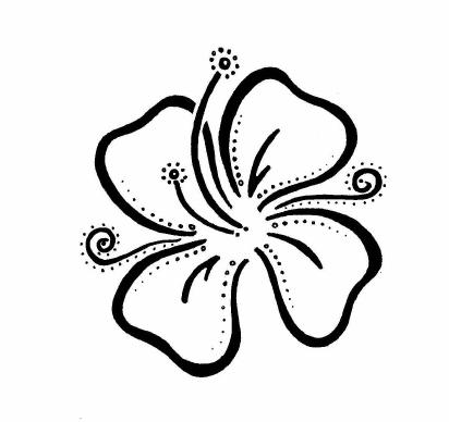 Art of Hawaiian Tattoos With Image Hawaiian Flower Tattoo Designs Picture 8