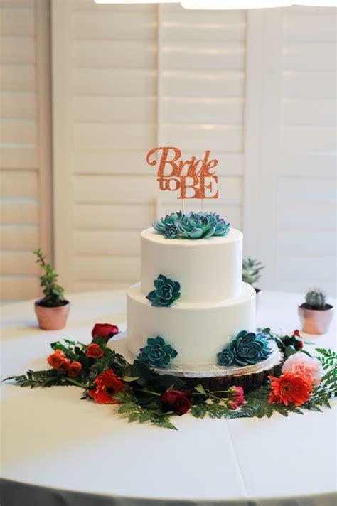 Bridal Shower with a Succulent Theme   Jen Vazquez Photography