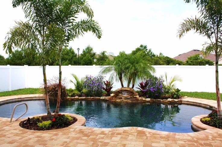 Landscape Small Yard Pool