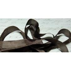 Шебби-лента,  винтажная , грецкий орех. Длина 90см